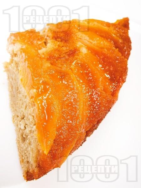 Кайсиева пита с тиквено и сусамено брашно - снимка на рецептата